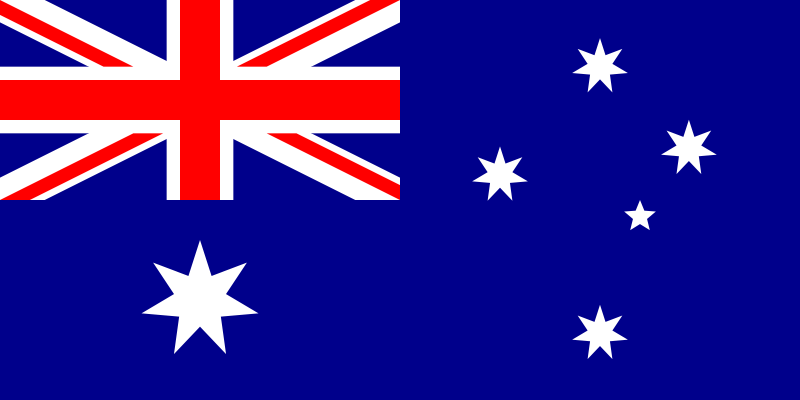 flag of the australia